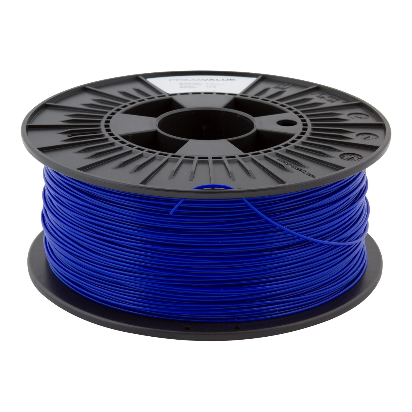 primavalue pla filament 1 kg spool blue filaments. Black Bedroom Furniture Sets. Home Design Ideas
