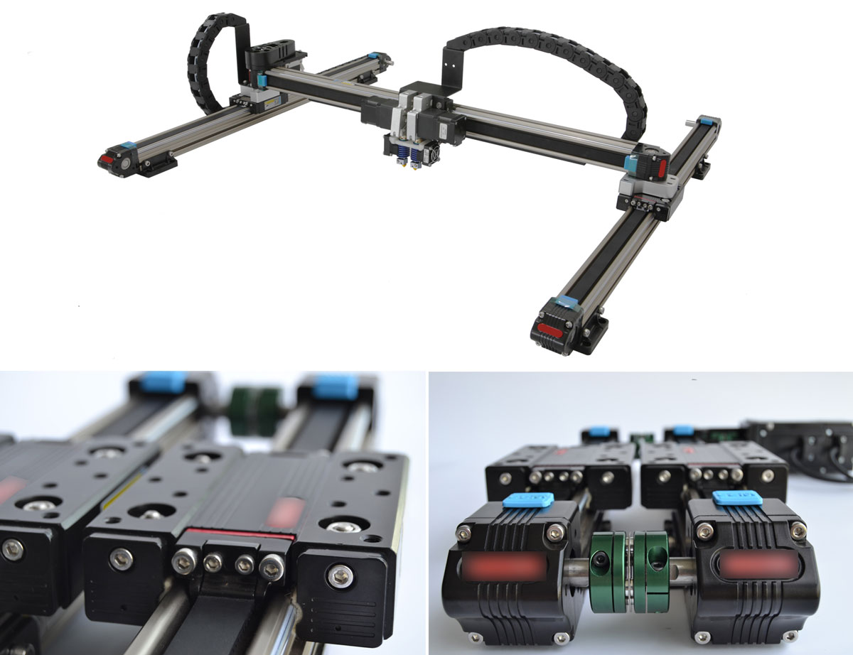 CreatBot D600 Linear Guide Rail