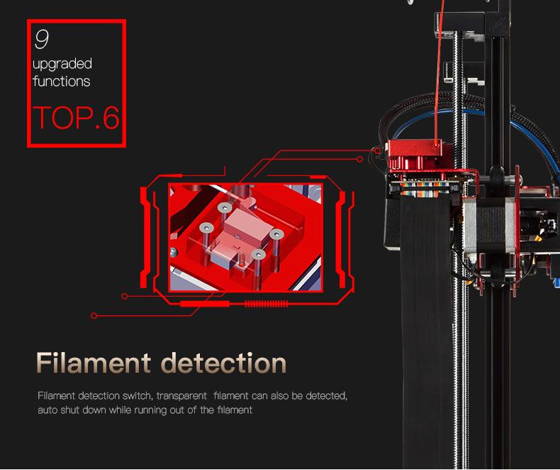 creality cr 10s pro 300 300 400mm. Black Bedroom Furniture Sets. Home Design Ideas