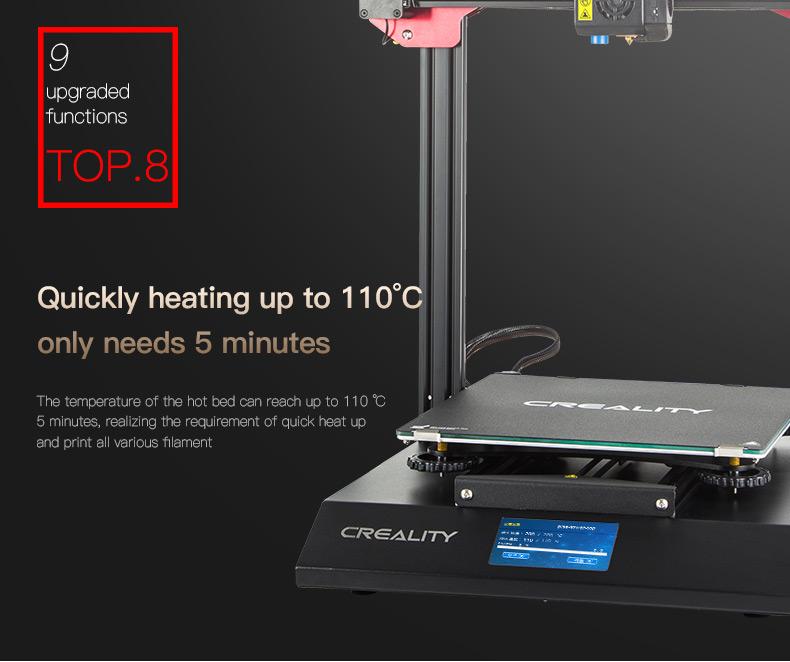 Creality3D-CR10 S PRO 3D printer 300mmx300mmx400mm