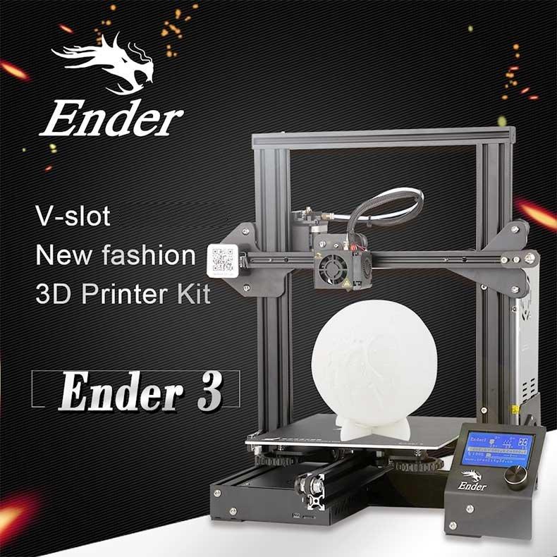 Creality Ender-3 - 220*220*250 mm