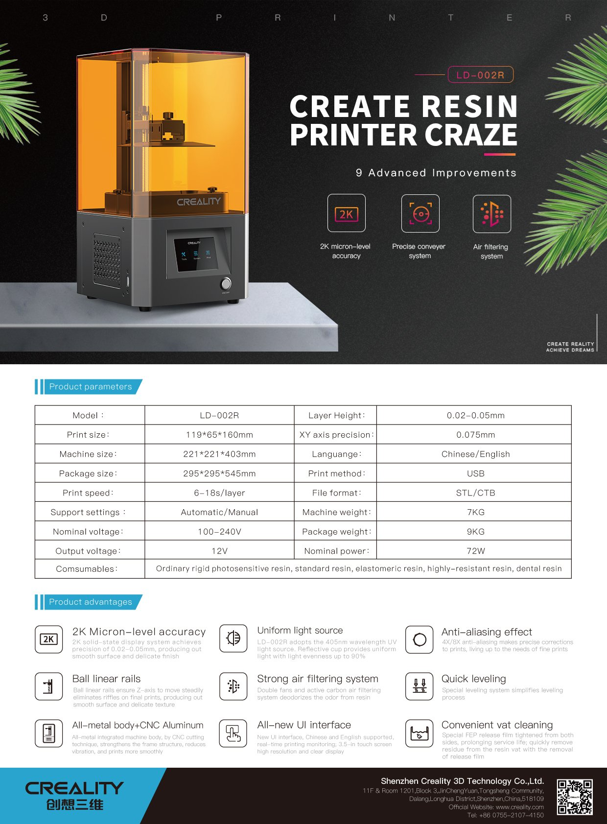 Creality LD-002R – DLP 3D printer 17