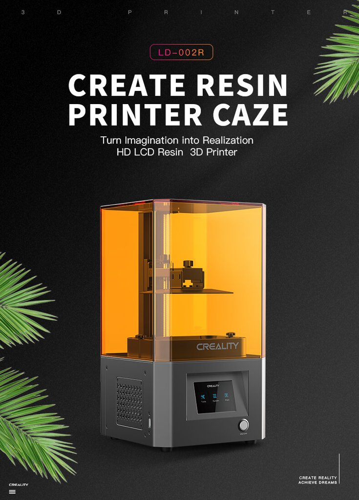Creality LD-002R – DLP 3D printer 18