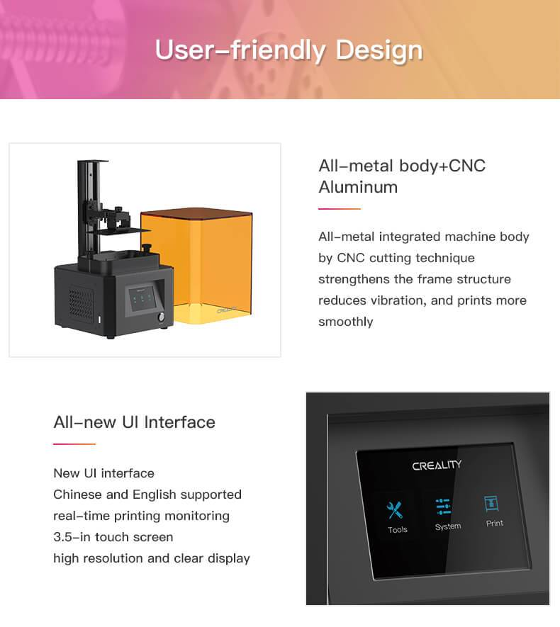 Creality LD-002R – DLP 3D printer 28