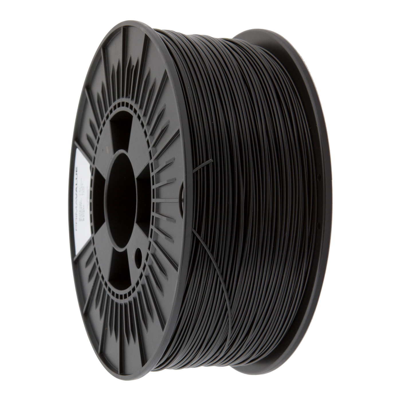 primavalue pla filament 1 kg spool black filaments. Black Bedroom Furniture Sets. Home Design Ideas