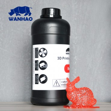 Wanhao 3D-Printer UV Resin - 1000 ml - Red 1